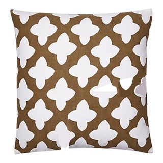 Dana Gibson Moda in Brown Pillow - APair