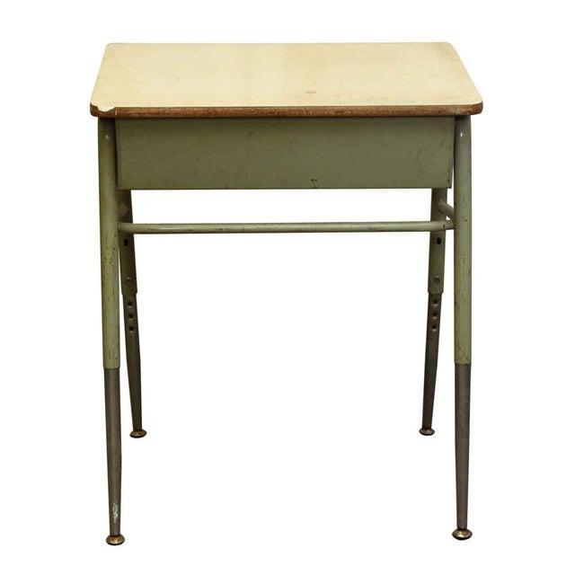 Mid-Century High School Desk - Image 2 of 4