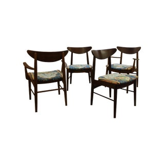 Mid Century Modern Dining Chairs - Set of 4