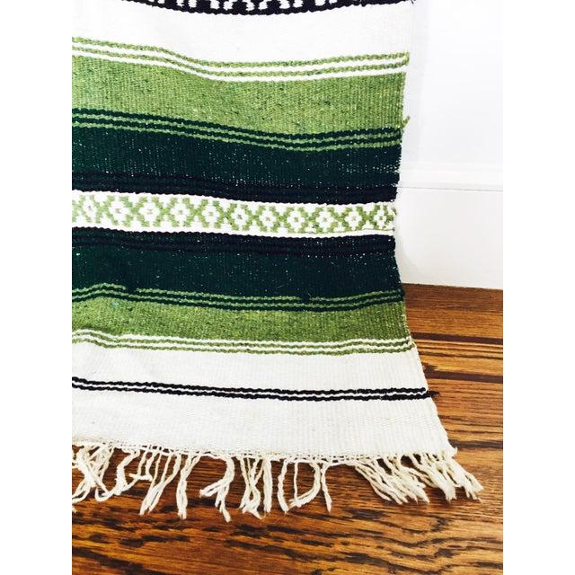Vintage Mexican Saltillo Blanket