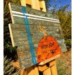 Image of Original Painting on Reclaimed Wood