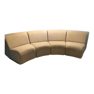 Contemporary Modular Sectional Seating - Set of 4