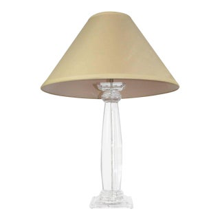 Shirly Ritts Lucite Table Lamp