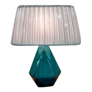 Robert Abbey Green Table Lamps - A Pair