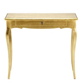 Gold Louis XV Console Table