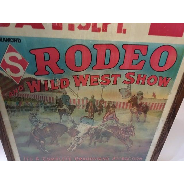 Original Rio Grande Rodeo Wild West Poster - Image 4 of 7