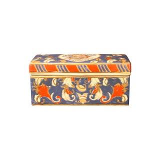 Vintage Italian Faience Box