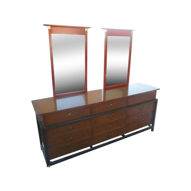 Hickory Furniture Asian Inspired Dresser Chairish
