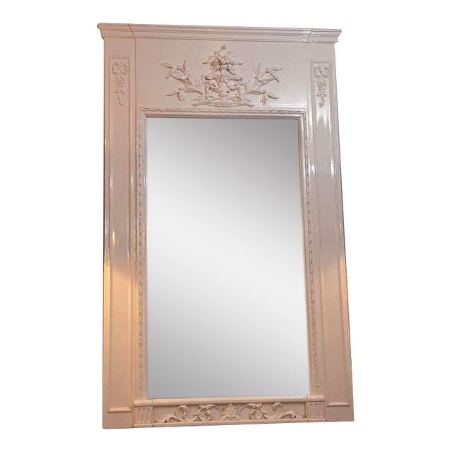French Trumeau Mirror - Image 1 of 7