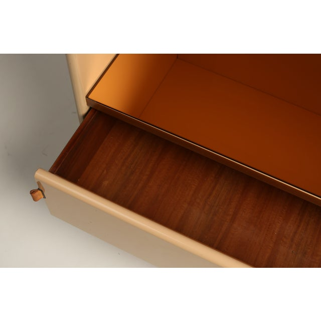 Italian Lacquer Peach Bar/Chest - Image 3 of 5