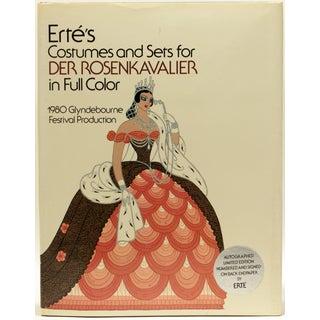 Erte's Der Rosenkavalier, Signed Limited Edition