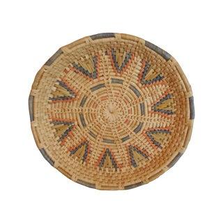 Pastel Woven Basket