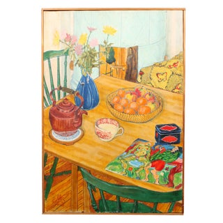 1976 Still Life Oil Painting