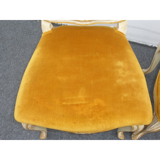 Vintage Karges Louis XV Style Cane Back Chairs - Image 9 of 11
