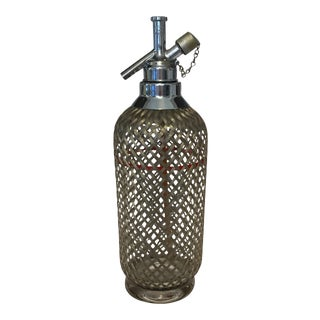 Vintage Rechargeable Sparklets Seltzer Bottle