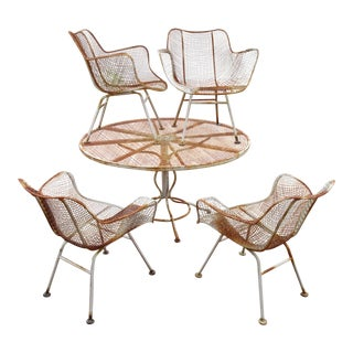 Woodard Sculptura Patio Dining Set- 5 Pieces
