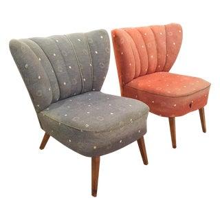 Mid-Century Bartholomew Cocktail Chairs - Pair