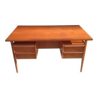1960's Danish Modern Teak Desk