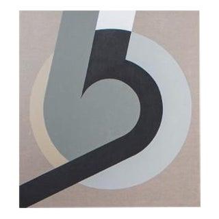 "Julian Peploe Contemporary Oil Painting, ""Circle Study 2"""
