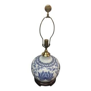Wildwood Chinese Lamp Blue & White