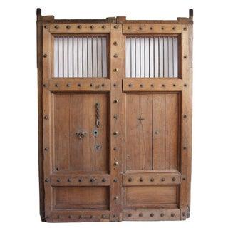 Old Teak Door From India