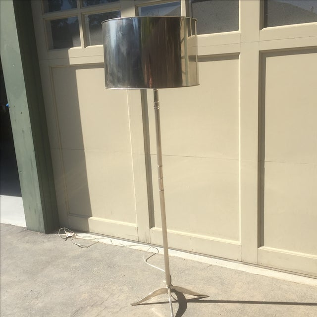 Williams Sonoma Metal Floor Lamp - Image 3 of 4