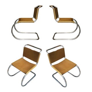 Original Mies Mr. Chairs for Knoll - Set of 4