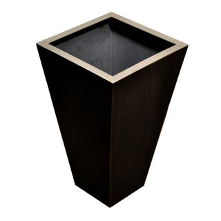 Medium Pyramid Steel Box Planter