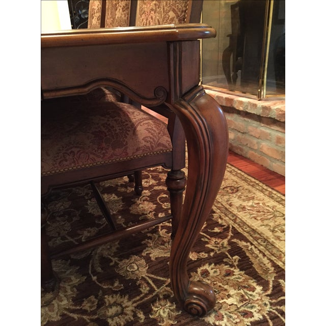 Formal Dining Room Set - Table with 8 Chairs - Image 4 of 9