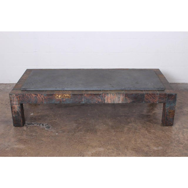 Large Patchwork Coffee Table by Paul Evans - Image 2 of 10