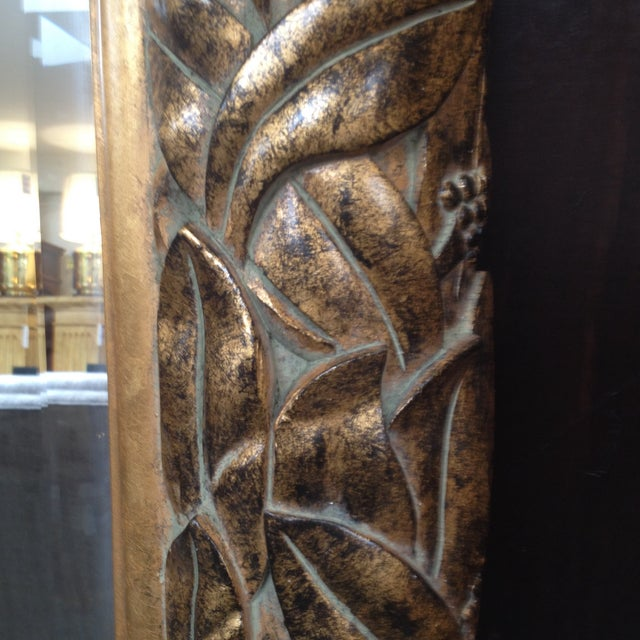 Gilded and Beveled Wall Mirror - Image 4 of 7