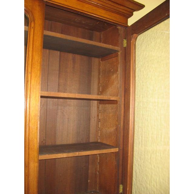 vintage walnut secretary chairish. Black Bedroom Furniture Sets. Home Design Ideas