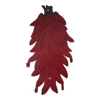 Red Chili Pepper Wall Hook