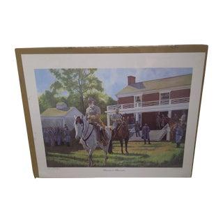 'Surrender at Appomattox' Print  by Robert Wilson