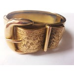 Image of Victorian Buckle Bangle Bracelet