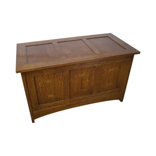 Stickley Mission Oak Blanket Chest
