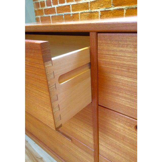 Danish Modern Teak Six-Drawer Dresser - Image 7 of 7