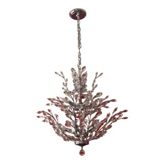 James R Moder Crystal Chandelier