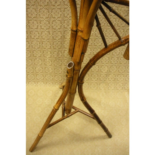 Antique Bamboo Plant Stand Aesthetic Movement - Image 7 of 8