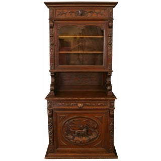 1880s French Renaissance-Style Hunting Buffet