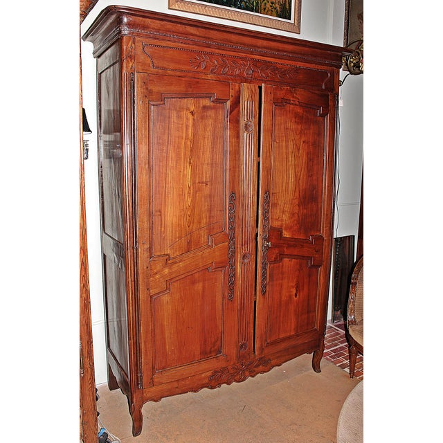 18th C. French Country Armoire - Image 11 of 11