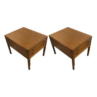 Mid-Century Nightstands by John Stuart - A Pair