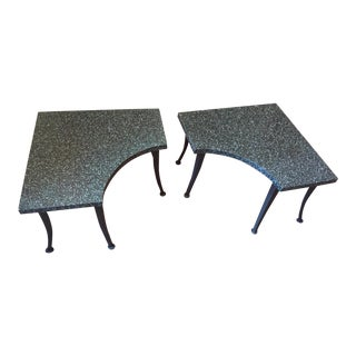 Metal Coffee Tables - A Pair