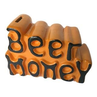 1970's Beer Money Piggy Bank