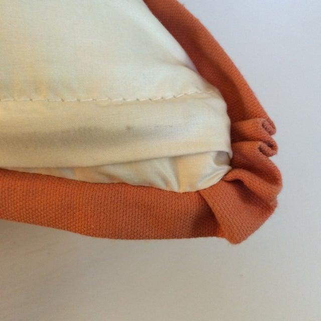 Orange Koi Pillows - A Pair - Image 3 of 4