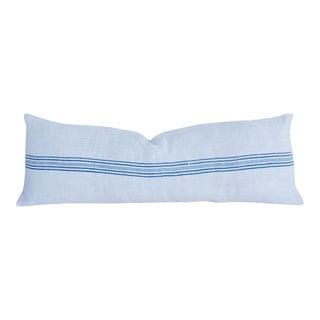Long French Homespun Body Pillow