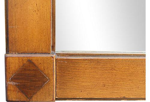 Exceptional Mid Century Italian Provincial Mirror By Henredon Fine Furniture   Image 4  Of 5