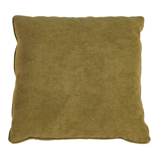Sarreid LTD Caprice Truffle Square Pillows - A Pair - Image 1 of 3