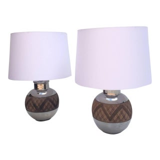 Ceramic Table Lamps by Bitossi - A Pair