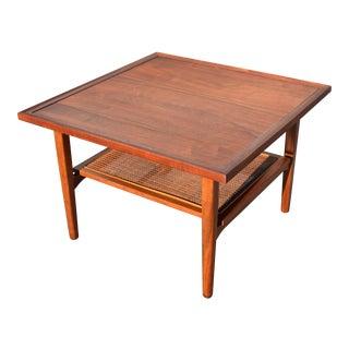 """Mid-Century Modern Side Table by Kipp Stewart for Drexel """"Declaration"""""""
